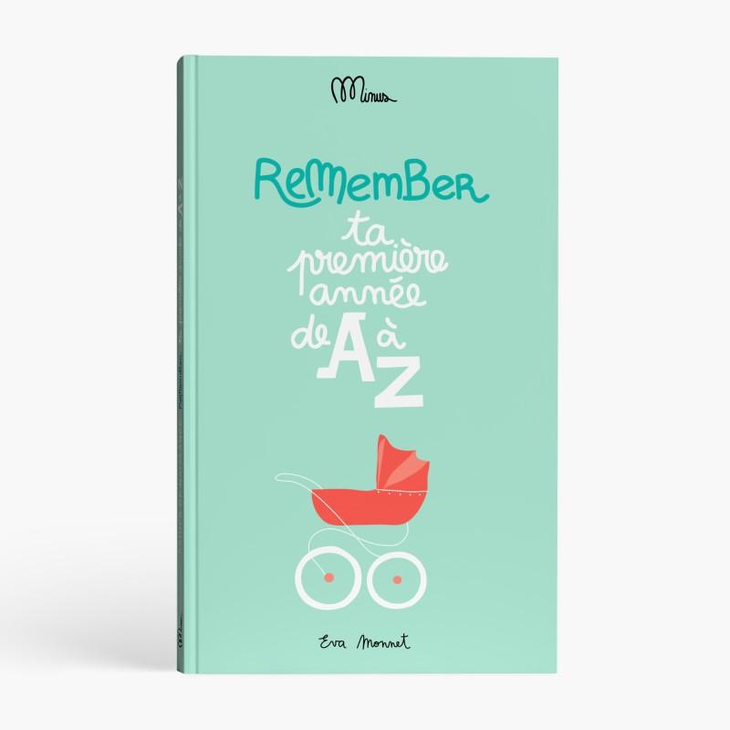 Image du produit  TA PREMIÈRE ANNÉE DE A À Z  Cahier de naissance