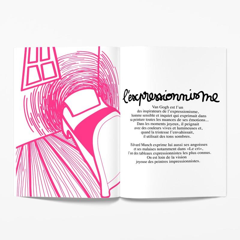 Cahiers d'activités sur l'art J'AURAIS VOULU ÊTRE UN ARTISTE  Minus Editions